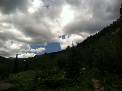James Peak Wilderness Sky