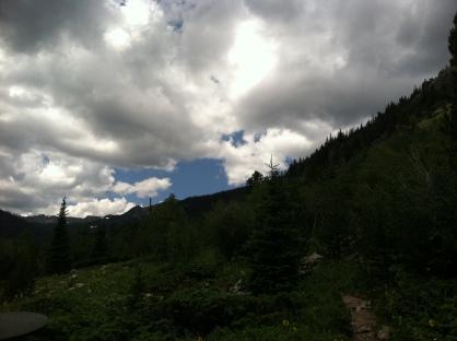 James Peak Wilderness Sky