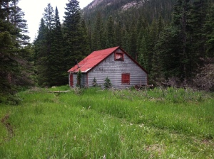James Peak Wilderness Cabin