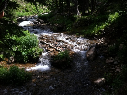 James Peak Wilderness Stream