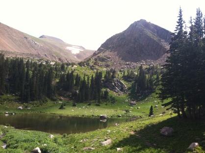 James Peak Wilderness Lakes